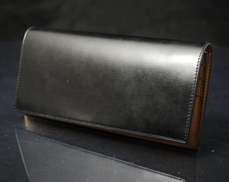 waterOil Cordovan Long Wallet