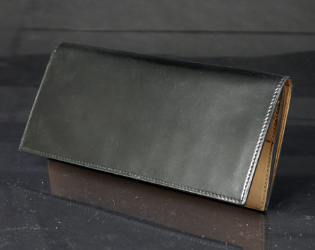 Shell Cordovan Long Wallet