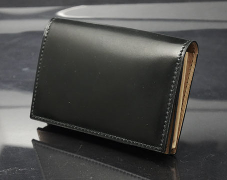 Shell Cordovan Card Case