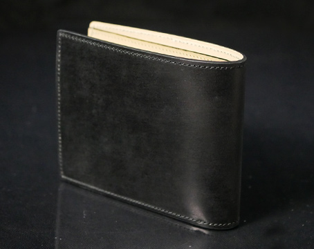waterOil Cordovan Short Wallet