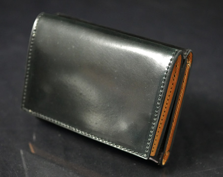 Shell Cordovan Minimum Wallet